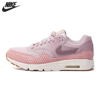 OPAL FERRIE - Original New Arrival Powder Pink NIKE AIR MAX 1 ULTRA ESSENTIAL Women's