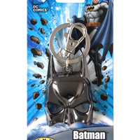 DC Batman Mask Pewter Keychain