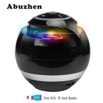 Abuzhen Bluetooth Speaker Wireless Portable Bass Speaker Mini Sound Box Caixa De