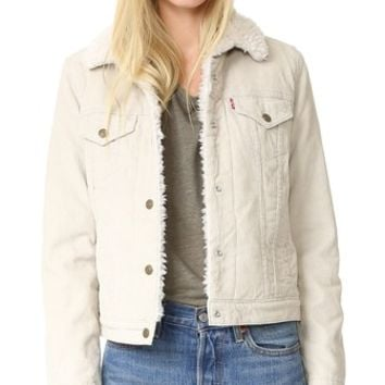Authentic Sherpa Trucker Jacket