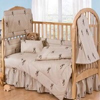 Browning Buckmark Crib Bedding Set