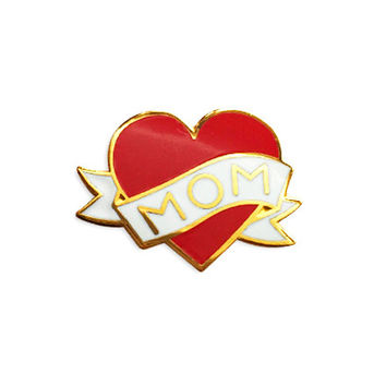Mom Lapel Pin