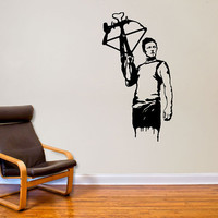 Walking Dead Inspired Daryl Dixon Wall Decal Decor