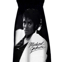 Michael Jackson Thriller Tube Strapless Dress