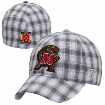 Top of the World Maryland Terrapins Caddy 1Fit Flex Hat - Gray