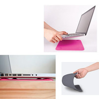 Laptop mat cooling and preventing overheat iPad, Macbook