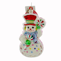 Christopher Radko Gingermint Glass Ornament
