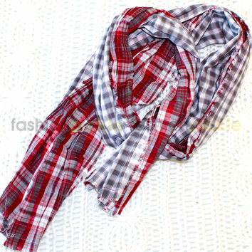 Chic Double Sided Print Scarf