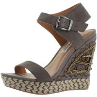 Naughty Monkey Ms. Sun Women's Wedge Sandals Shoes