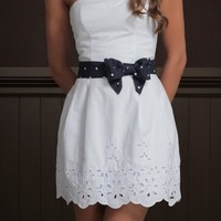 New with tag Hollister Women Summer White River Jetties Dress Size Large