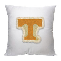 Tennessee Volunteers NCAA Team Letterman Pillow (18x18)