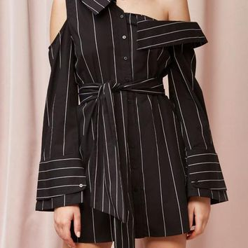 FINDERS KEEPERS | Alps Shirt Dress - Black