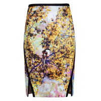 Pretty trees print skirt - Dusky Pink | Skirts | Ted Baker UK