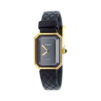 Chanel 18K Yellow Gold Womens Premiere Watch