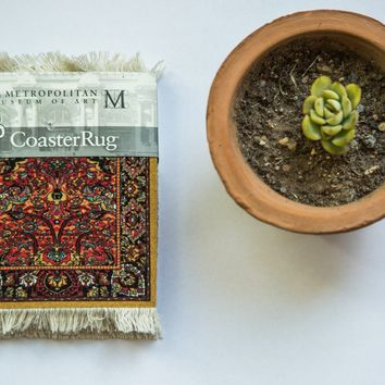 Metropolitan Museum of Art Persian Rug Coaster Set