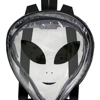 CLEAR ALIEN BACKPACK - One