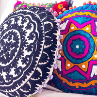 Sunshine Daydreams Cushion Cover - Round