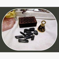 """Nurturing & Protecting"" Black Tourmaline Travel Set"