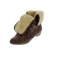 Steve Madden Womens Blizardd Faux Fur Lined Ankle Boots