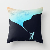 Day fills up the sky Throw Pillow by Budi Satria Kwan