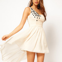 Rare Skater Dress with Jewel Embellishment