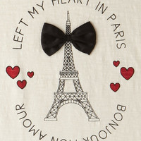 Left My Heart In Paris Tee (Kids)