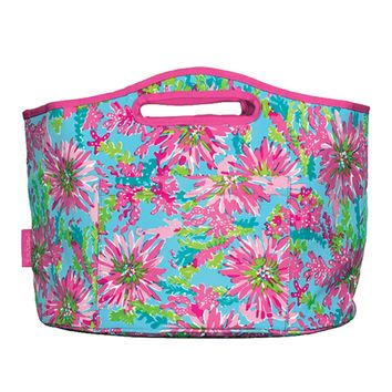 Lilly Pulitzer Beverage Bucket: Trippin' and Sippin'