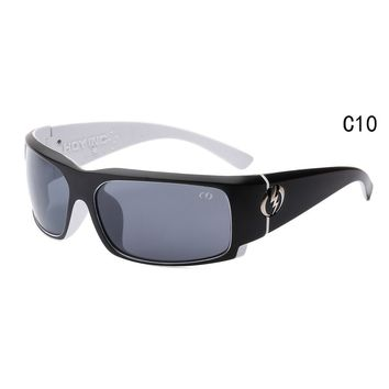 Sunglasses Visual Charge Gloss black/ gray lens Wrap Msrp NEW
