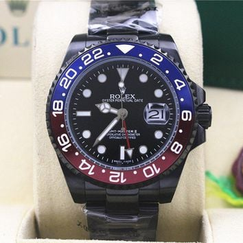 cc hcxx Gmt master II black red and blue