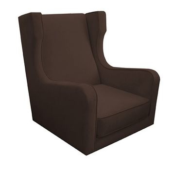 Komfy Kings Kingston Velvet Glider Chair