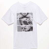 Freshjive Blunt Roll T-Shirt - Mens Tee - White