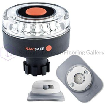 Navisafe Navilight 360° 2NM w/Navibolt Base & RIB Mount - White