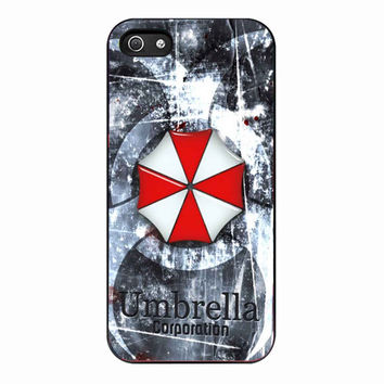 Resident Evil Umbrella Corporation SPECULUMINT for Iphone 5 Case *NP*