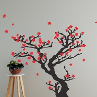 Chinese Tree Blossom Wall Decal. #628