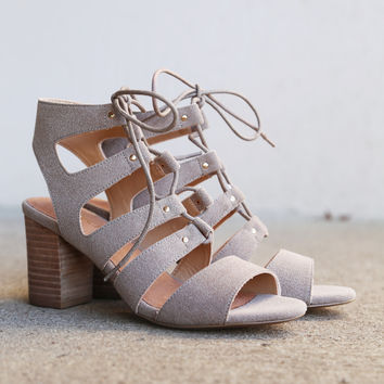 Kiko By Restricted Footwear {Taupe}