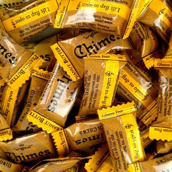 Chimes Ginger Candy Peanut Butter 1lb Bag