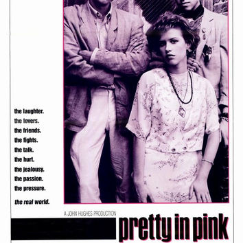 Pretty in Pink 27x40 Movie Poster (1986)