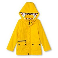 Boys' Raincoat with Detachable Hood - Yellow : Target