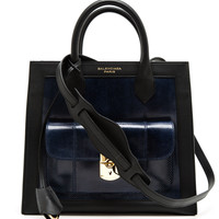 BALENCIAGA | Padlock Mini All Afternoon Tote Bag | Browns fashion & designer clothes & clothing