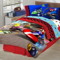 Super Mario The Race Is On Sheet Set, Full