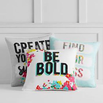 Find Your Bliss Pillow Cover