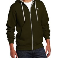 Champion Men's Full-zip Eco Fleece Hoodie Jacket