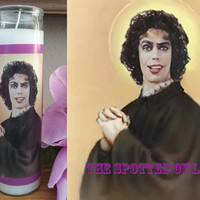 Dr. Frank-N-Furter (Rocky Horror Picture Show) Prayer Candle - choose scent/color