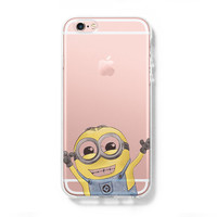 Despicable Me iPhone 6 Case iPhone 6s Plus Case Galaxy S6 Edge Clear Hard Case C167