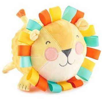 Hallmark Lion Stuffed Animal Chime Ball, 5.5""