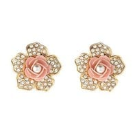 Sleeping Beauty Stud Earrings: Charlotte Russe