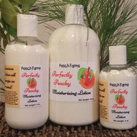 Perfectly Peachy Moisturizing Lotion 8oz