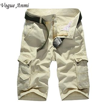 High quality new fashion style men short pants travel beach mens cargo shorts casual washing short trousers