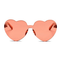 The Naked Heart Sunglasses Orange
