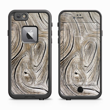 Aged Grey Woodgrain Skin for the Apple iPhone LifeProof Fre Case